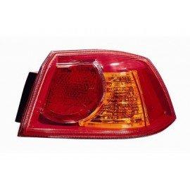 Feu arrière droit complet (partie aile arrière) pour Mitsubishi Lancer depuis 2008