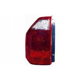Feu arrière gauche sans partie électrique pour Mitsubishi Pajero de 2003 à 2006