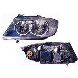 Phare gauche H7 + H7 VALEO pour BMW serie 3 Sedan de 2005 à 2008