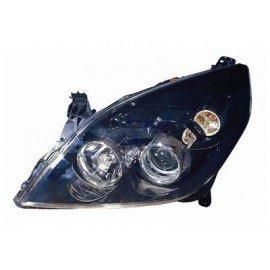 Projecteur gauche VALEO H1+H7 intérieur noir avec feu de direction pour Opel Signum d'après 2005 version Sport