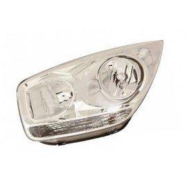 Phare gauche H7+H1 avec clignotant et moteur électrique pour Kia Venga depuis 2010