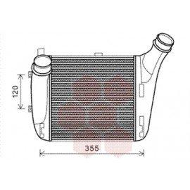 Intercooler pour Audi Q7 version : 6.0 TDi - Droit de 2008 à 2015