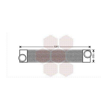 intercooler bmw serie 5 ann e 2003 2010 version diesel r f 06004346 pour bmw serie 5. Black Bedroom Furniture Sets. Home Design Ideas