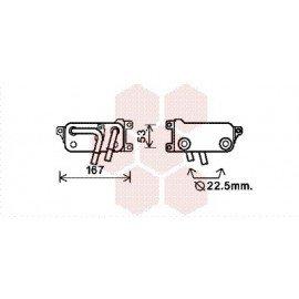 Radiateur Huile pour BMW serie 6 version : 630i / 650i - Gearbox de 2004 à 2011