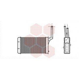 Radiateur Chauffage pour Citroen AX version : Toutes durites fixe de 1986 à 1991