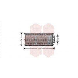 Radiateur Chauffage pour Citroen C4 Picasso version : Toutes de 2006 à 2013