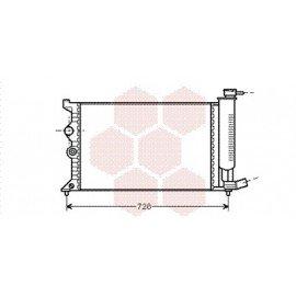 Radiateur Moteur pour Citroen Xantia version : 1.6 / 1.8 / 2.0 8V / 2.0 16V de 1995 à 2002
