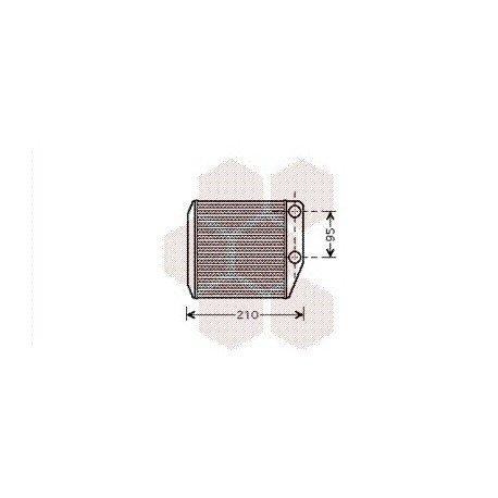 radiateur chauffage fiat punto ann e 2005 2012 version diesel r f 17006313 pour fiat punto. Black Bedroom Furniture Sets. Home Design Ideas