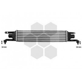 Intercooler pour Fiat Punto version : 1.3 MJTD (Turbo Diesel) - kW66 de 2005 à 2012