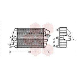 Intercooler pour Fiat Stilo version : 1.9 JTD (Turbo Diesel) de 2001 à 2007