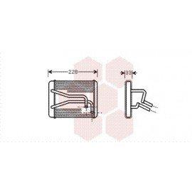 Radiateur Chauffage pour Kia Carrens version : 1.8 i 16V de 1999 à 2002