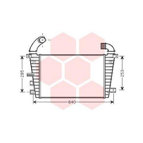 intercooler pour opel astra h version 1 7 cdti kw81 92 moteur z17dtj z17dtr de 2004 2010. Black Bedroom Furniture Sets. Home Design Ideas