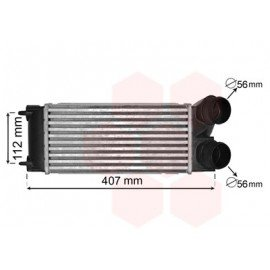 Intercooler pour Peugeot 3008 version : 1.6i 16V de 2009 à 2015