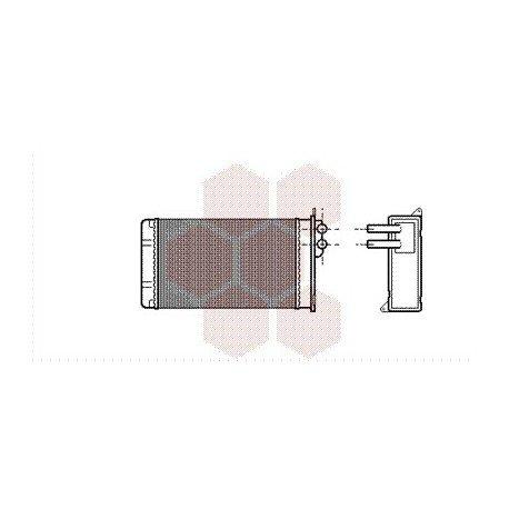 radiateur chauffage pour seat ibiza version de 1984 1993 pour seat ibiza. Black Bedroom Furniture Sets. Home Design Ideas