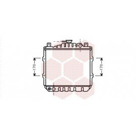 Radiateur Moteur pour Suzuki Alto version : GA / GL de 1985 à 1995