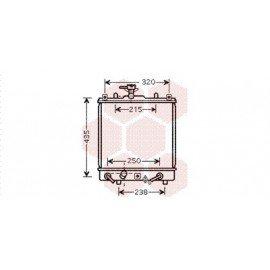 Radiateur Moteur pour Suzuki Ignis version : 1.5 de 2003 à 2004