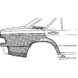 Aile arrière inferieure pour Mercedes classe C W201 de 1982 a 1993
