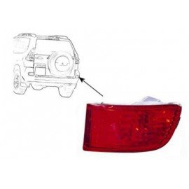 Anti Crash droit pour Toyota Land-Cruiser de 2002 a 2009