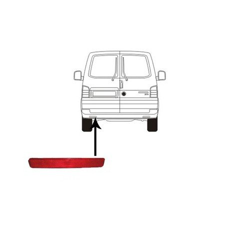 Catadioptre gauche pour volkswagen t5 pieces detachees pour volkswagen t5 - Garage volkswagen pieces detachees ...