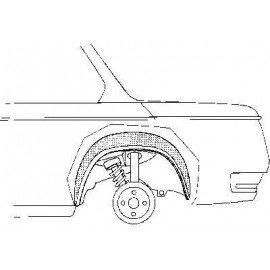 Arc d'aile arrière intérieur pour BMW 1602/2002