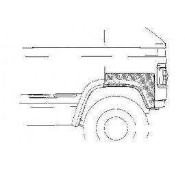 Arc d'aile avant pour Mercedes 406-608 jusqu'à 1986