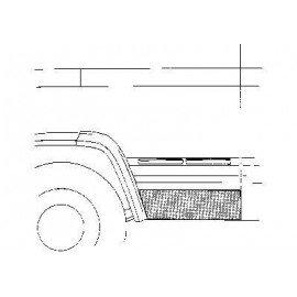 Panneau de porte pour Mercedes 406/608 jusqu'à 1986