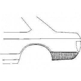 Coin bas d'aile arrière gauche pour Opel Ascona A
