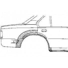 Arc d'aile arrière pour Opel Ascona c depuis 1981