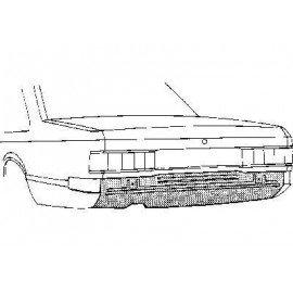 Panneau pour Opel Rekord E de 1977 à 1988