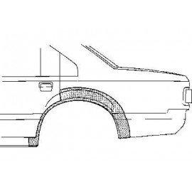 Arc d'aile arrière pour Opel Rekord e de 1977 à 1982