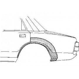 Passage de roue arrière pour Volvo 240 depuis 1978