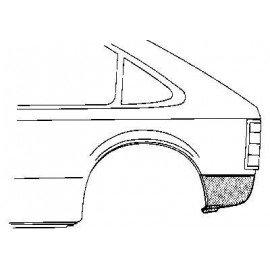 Coin bas d'aile arrière gauche pour Opel Kadett D pour Kombi / Caravan