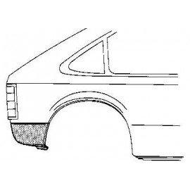 Coin bas d'aile arrière droit pour Opel Kadett D pour Kombi / Caravan