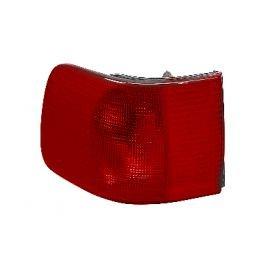 Verre de feu arrière gauche extérieur (orange-rouge) pour Audi 100 (sauf Break)
