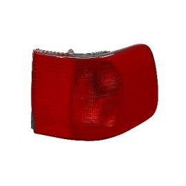 Verre de feu arrière droit extérieur (orange-rouge) pour Audi 100 (sauf Break)