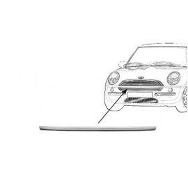 Moulure pare-choc centrale en primer pour Mini (BMW) de 2001 à 2006