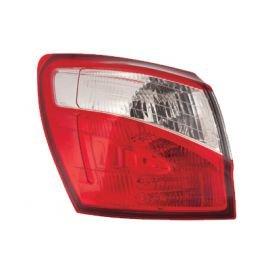 Feu arrière gauche complet (partie aile arrière) pour Nissan Qashqai depuis 2010 sauf version Q+2