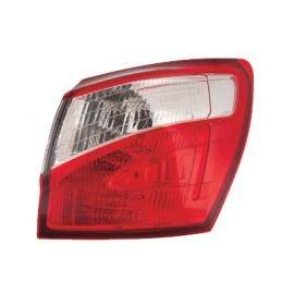 Feu arrière droit complet (partie aile arrière) pour Nissan Qashqai depuis 2010 sauf version Q+2
