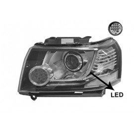Phare gauche H7 + LED pour Land-Rover Freelander depuis 2013 marque Visteon