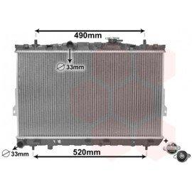 Radiateur moteur pour Hyundai Coupé de nov 2001 à déc 2006 version 1.6