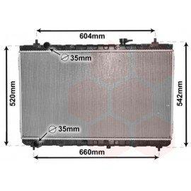 Radiateur moteur pour Kia Carnival depuis 2006 version 2.7i