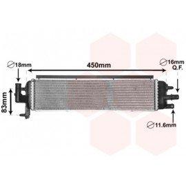 Radiateur additionnel pour Citroen DS5 depuis nov 2011 version 2.0D Hybrid boite automatique