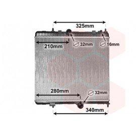 Radiateur moteur pour Citroen DS5 depuis nov 2011 version 2.0D Hybrid boite automatique