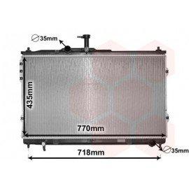 Radiateur moteur pour Hyundai H1 depuis 2008 version 2.5 CRDi boite 5 vitesses