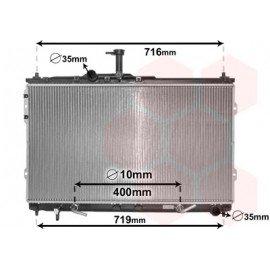 Radiateur moteur pour Hyundai H1 depuis 2008 version 2.5 CRDi boite automatique