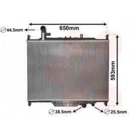 Radiateur moteur pour Land-Rover Range-Rover Sport de sept 2009 à juin 2013 version 3.0TD boite automatique