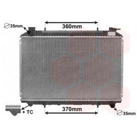 Radiateur moteur pour Nissan Serena d'avant 1997 version 1.6i / 2.0i sans thermo
