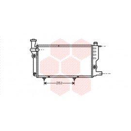 Radiateur moteur pour Peugeot 205 version 1.0 / 1.1 / 1.4 / 1.6