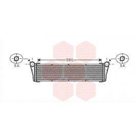 Radiateur moteur central pour Porsche 911 (997) de 2004 à 2012 version 3.6 / 3.8