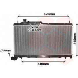 Radiateur moteur pour Subaru Forester de dec 2007 à 2013 version 2.0 Turbo-diesel